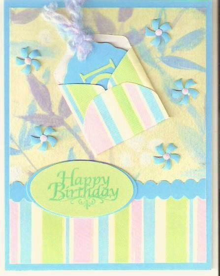Birthday Card With Tag