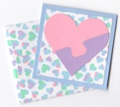 Puzzle Heart Gift Card