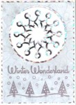 Winter Wonderland Cut and Fold Snowflake