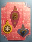 Christmas Ornament Trio