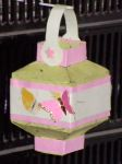 Lucky Lantern with Butterfly