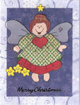 Paper Pieced Christmas Angel