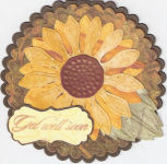 Sunflower Get Well Card