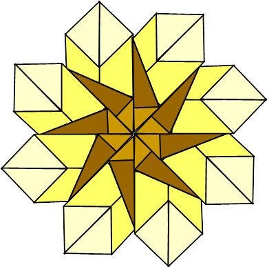 completed inverse star